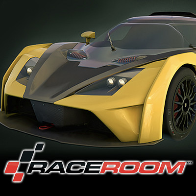 Room 8 studio ktm gt4 yellow