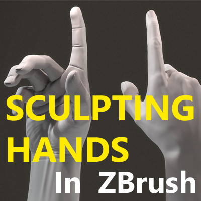 ArtStation - Sculpting Hands In Zbrush , Serge Astahov