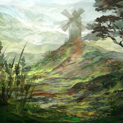 Lorelei si lorelei si loreleisketch landscape 22