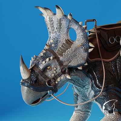 Michal korczyk sinoceratops 03