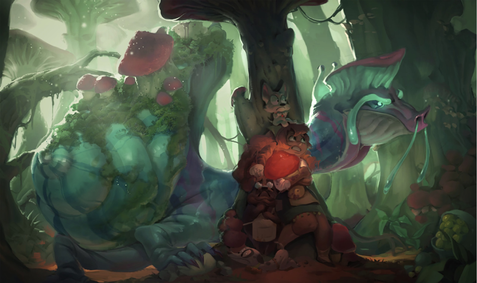 COOK QUEST - Mushbeast Forest