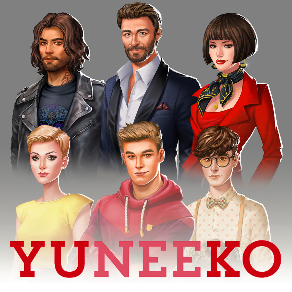 Character art for Smilegate Europe / Yuneeko.