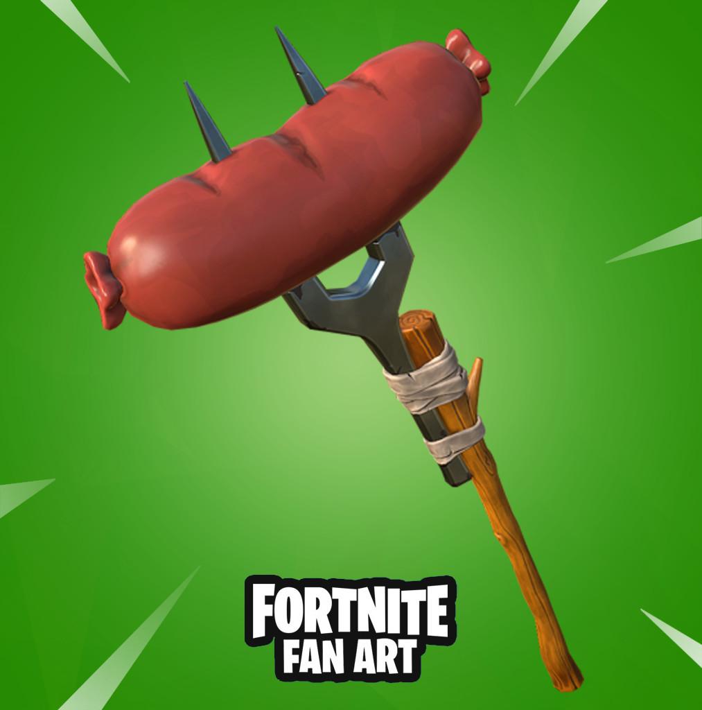 Sausaxe - Fortnite Fan Art