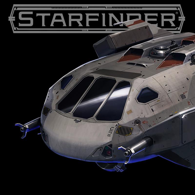 Starfinder: Against the Aeon Throne - ship