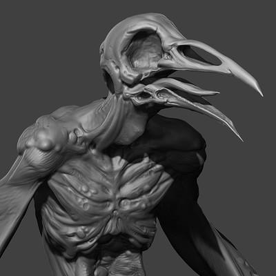 Zombie Harpy 3D Print