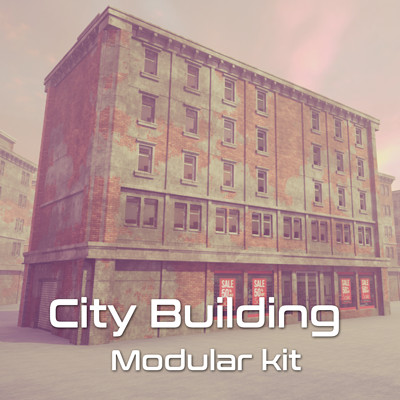 City Building Modular Kit