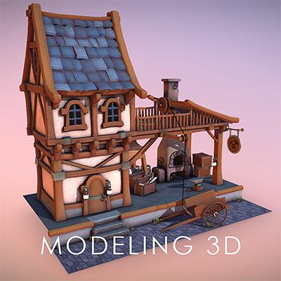 Oceane leflon modeling3d