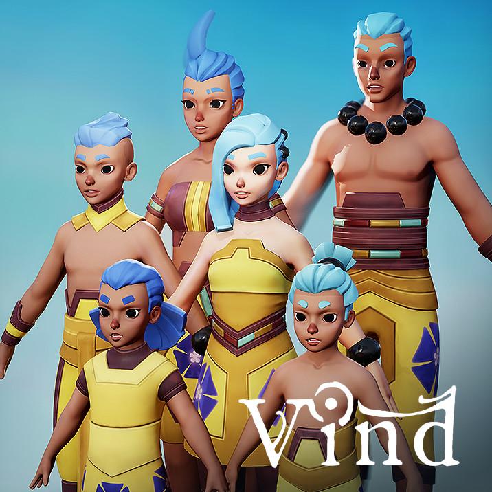 Vind - Idonian Villagers