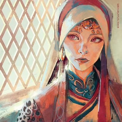 Ann maulina portrait