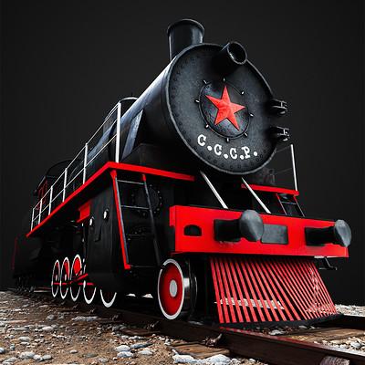 Ewa wierbik lokomotywa1