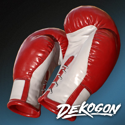 Dekogon : Sports & Gym Assets - Boxing Gloves