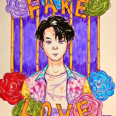 Sick of this Fake Love: Fanart