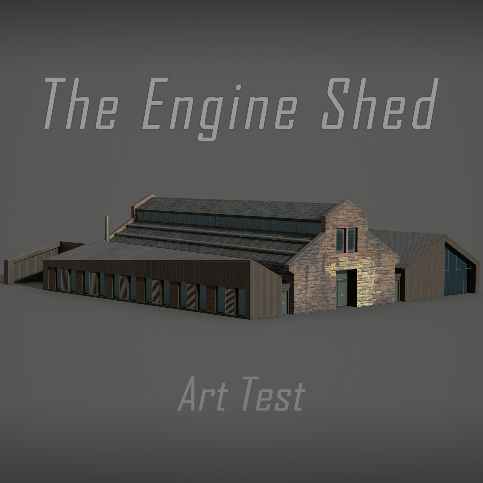 The Engine Shed - Art Test
