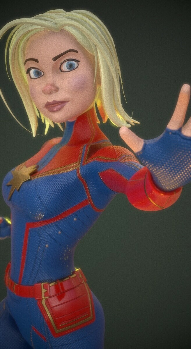 Captain Marvel - Real Time