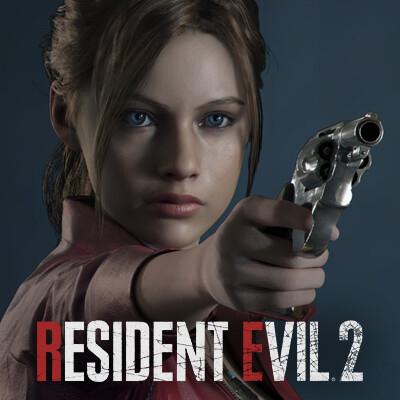 Artstation Resident Evil 2 Claire Artworks Riccardo Minervino
