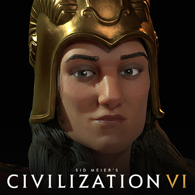 Civilization VI: Tomyris of Scythia