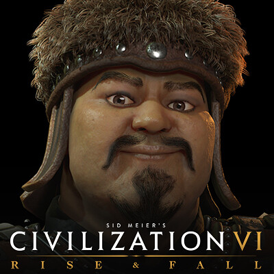 Civilization VI Rise & Fall: Genghis Khan of Mongolia