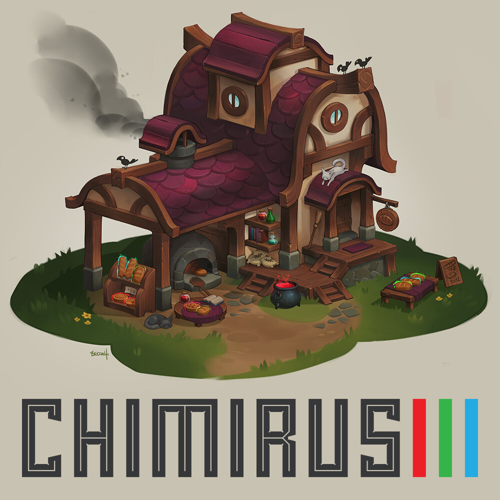 "Chimirus Environment Demo: ""Madame Renee's Bewitched Bakes"""
