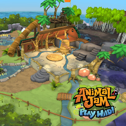 Animal Jam - Play Wild! - Cosmo's Hideout