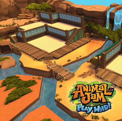 Animal Jam - Play Wild! - Outback Den