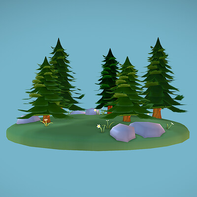 Small Pine Forest