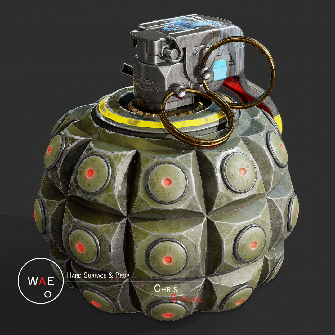 Anti-Material Grenade