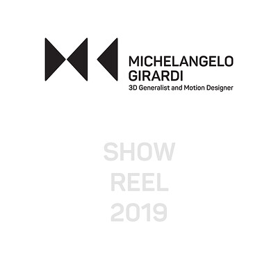 Michelangelo girardi showreel icon