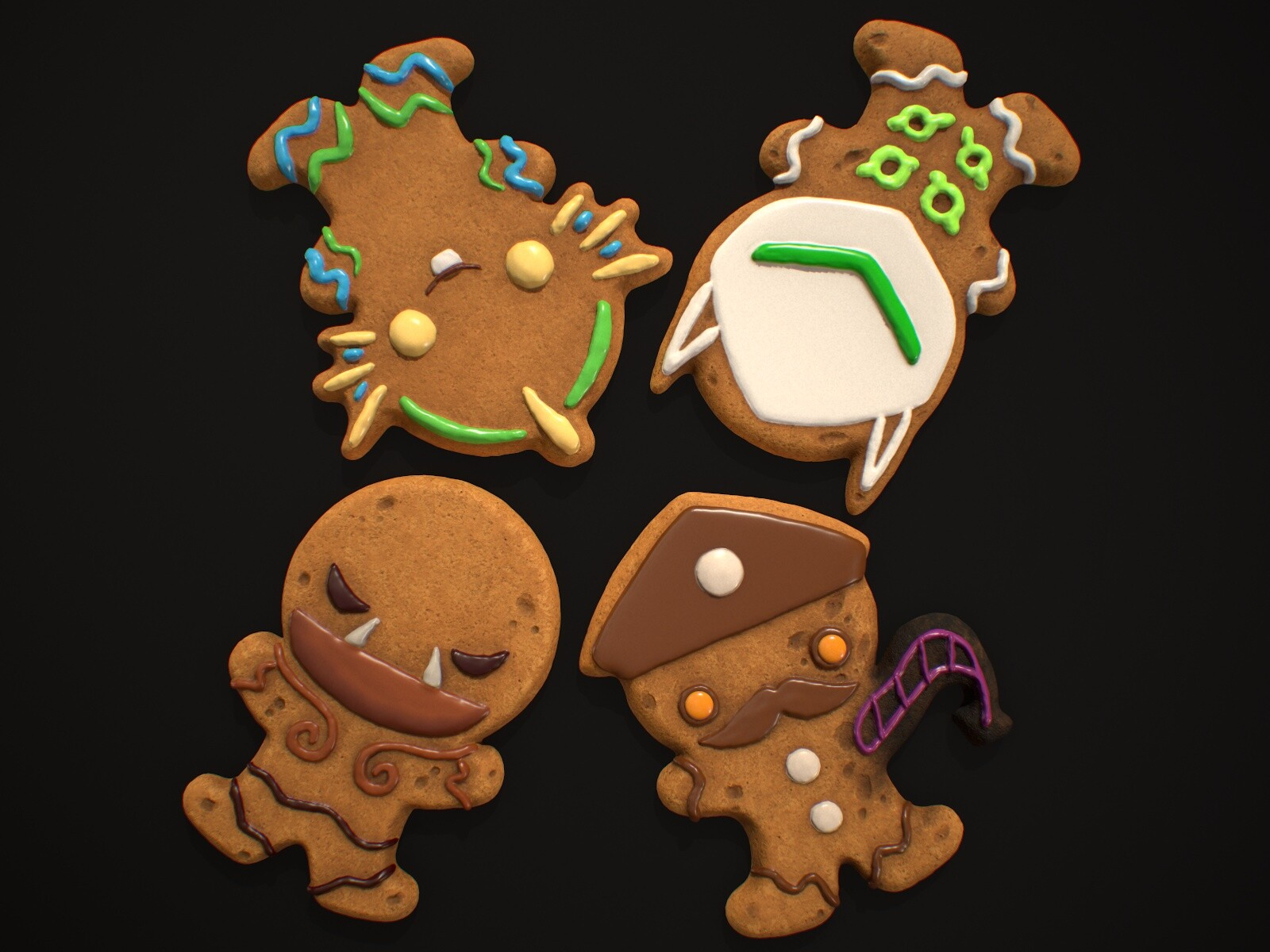 Gingerbread of the Storm