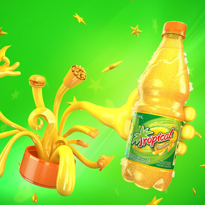 Tropical Bebida - Promo Animation
