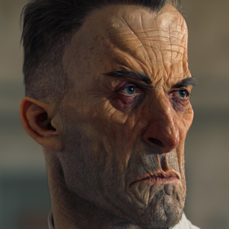 Dishonored 2 Soldier bust