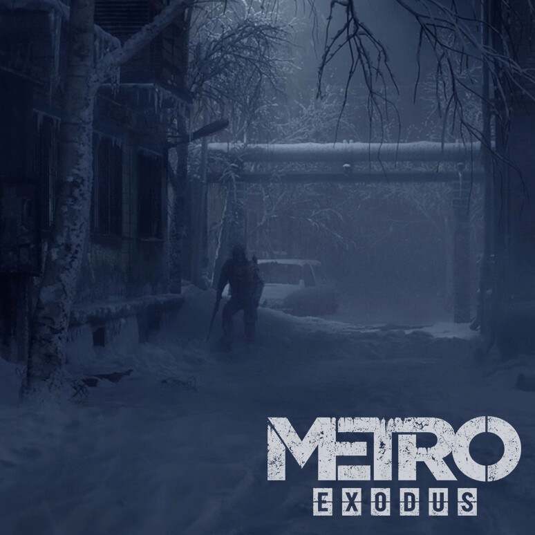 Metro Exodus- Artyom's Nightmare // Mattepaints