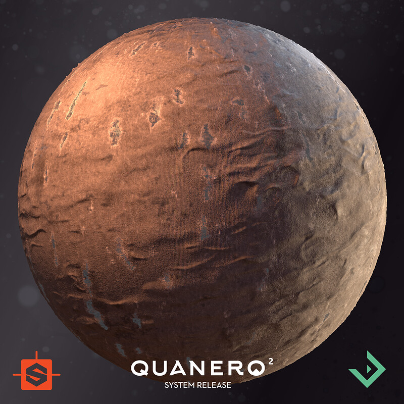 Quanero 2 - System Release | Old Cloth and Metal Plates Material