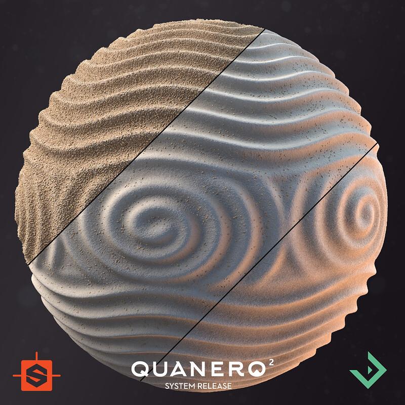 Quanero 2 - System Release | Zen Garden Sand/Pebbles Material