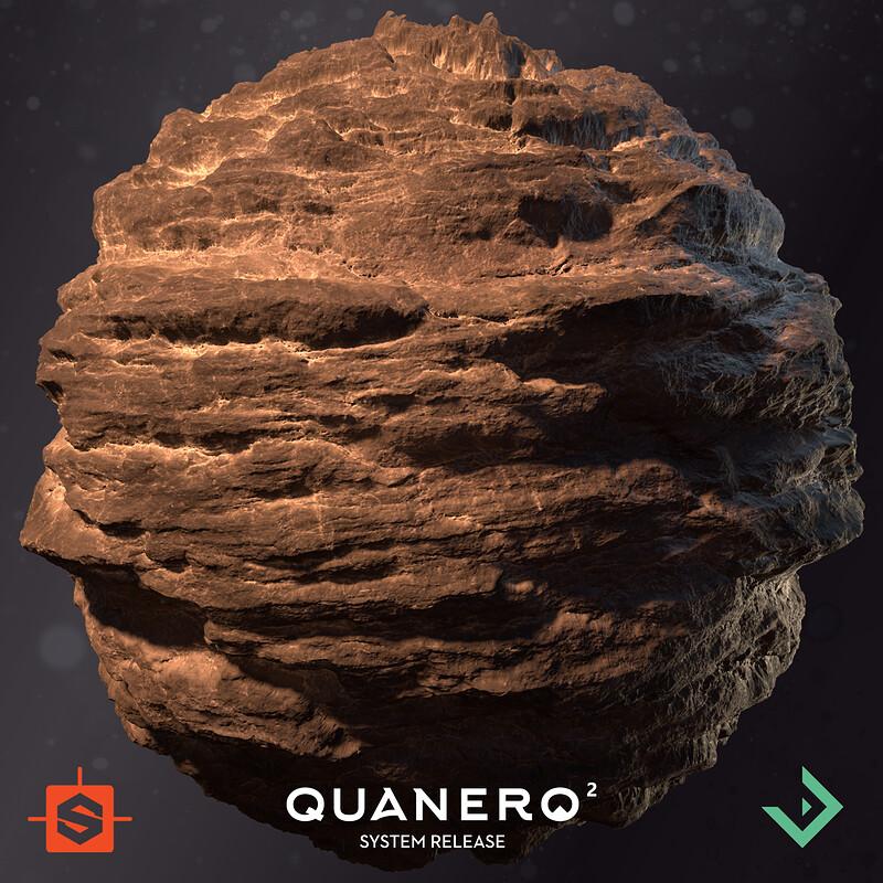 Quanero 2 - System Release | Rock Cliff Material