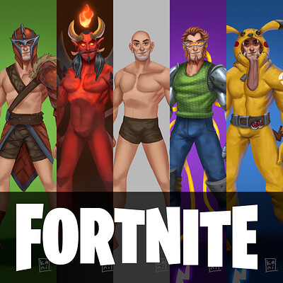 Fortnite Skin Concept Art | Fan Art