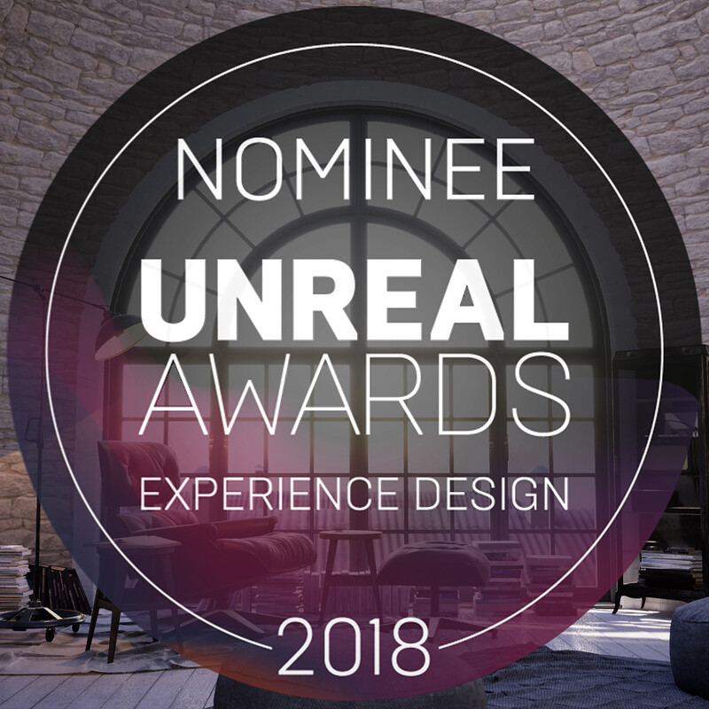 Unreal Awards Experience Design 2018 Nominee