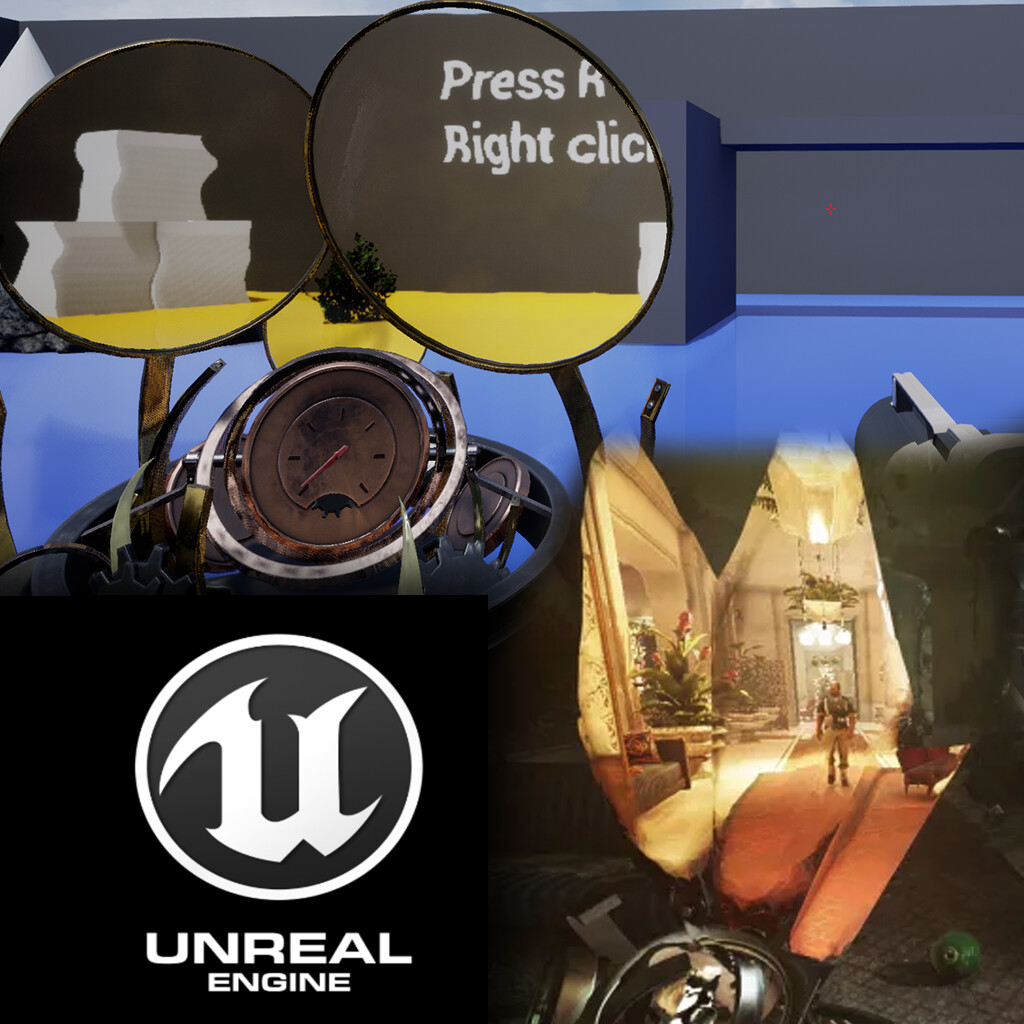 ArtStation - [UE4] Dishonored 2 Time Travel Mechanic, Jakub