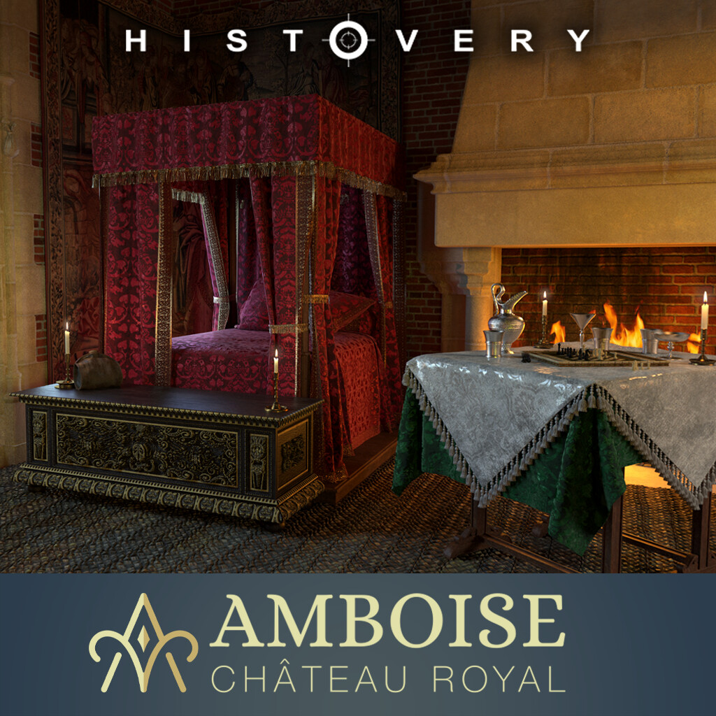 Chateau d'Amboise- The Great Bedroom