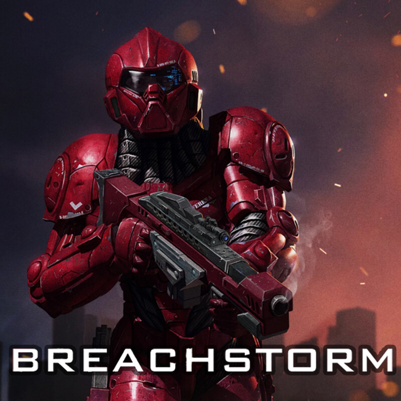 Breachstorm Homeworld Confederacy Soldier