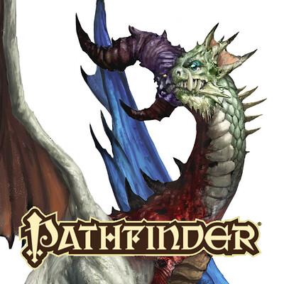 Andrea tentori montalto tumult dragon logo