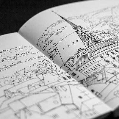 Evgeny kashin sketchbookz