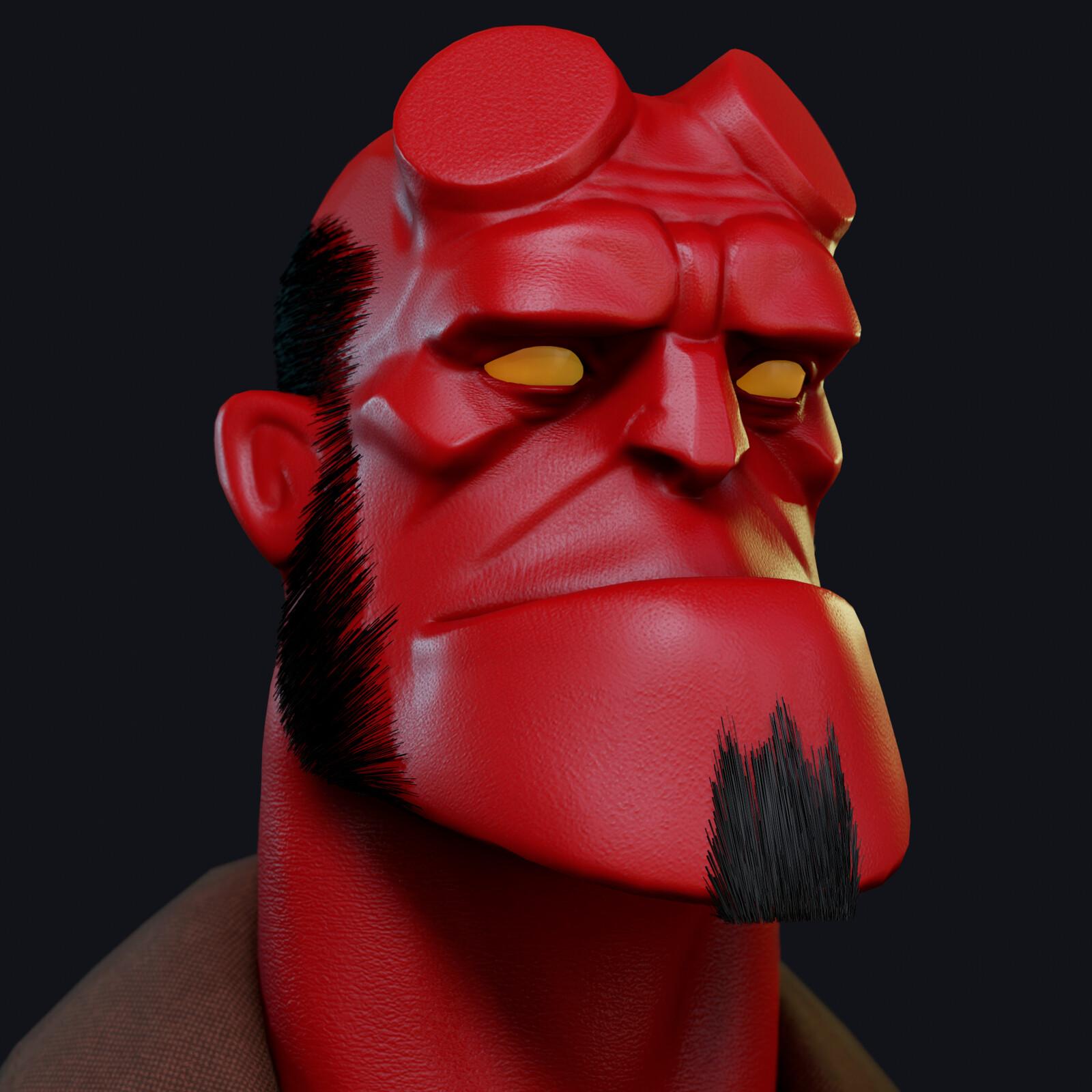 Hellboy (Mignola style)