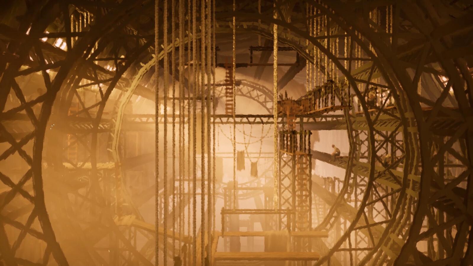 11-11: Memories Retold, Zeppelin Hangar