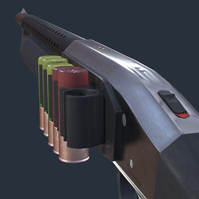 Mossberg 500 Pistol Grip Maritime Shotgun