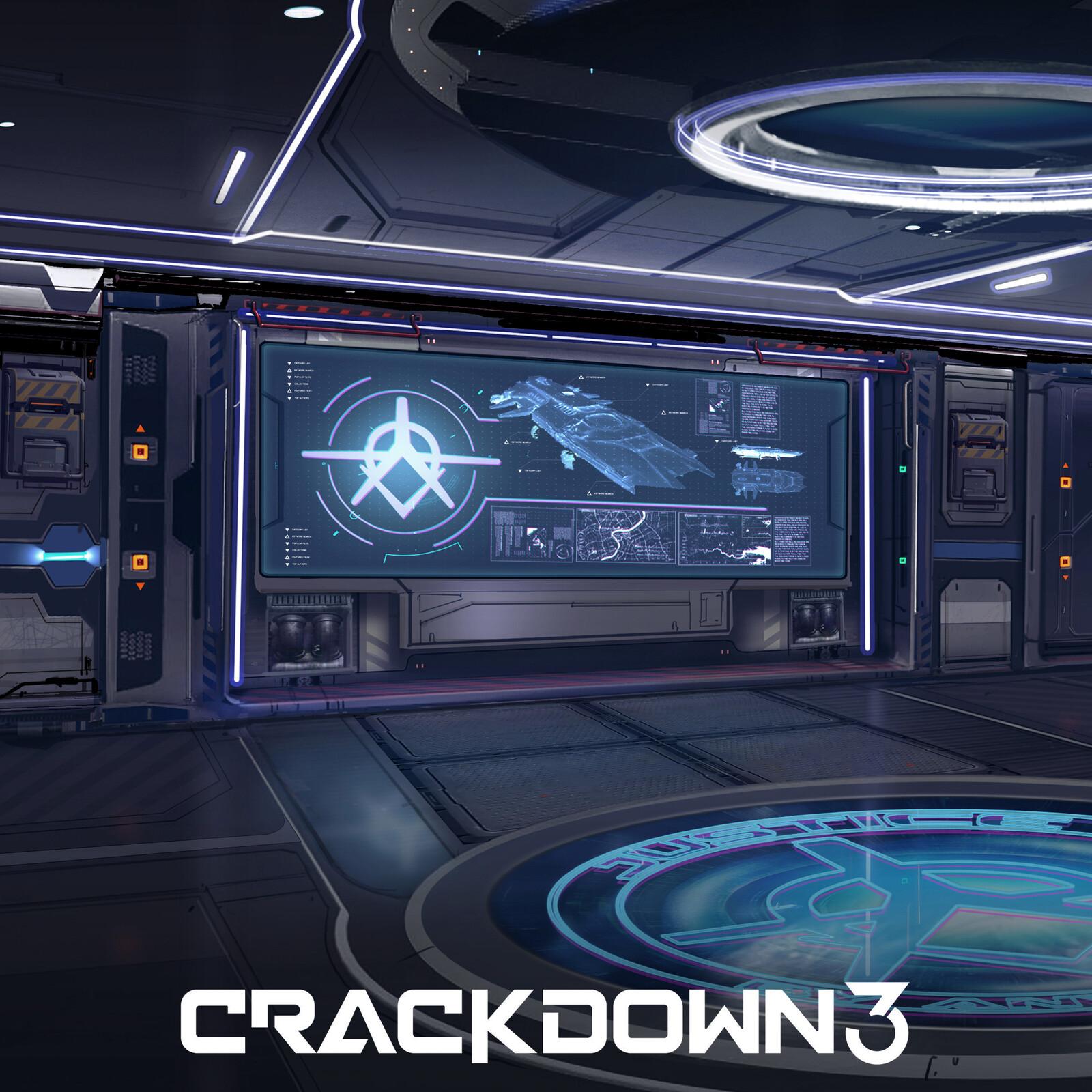 Crackdown 3 - Briefing room