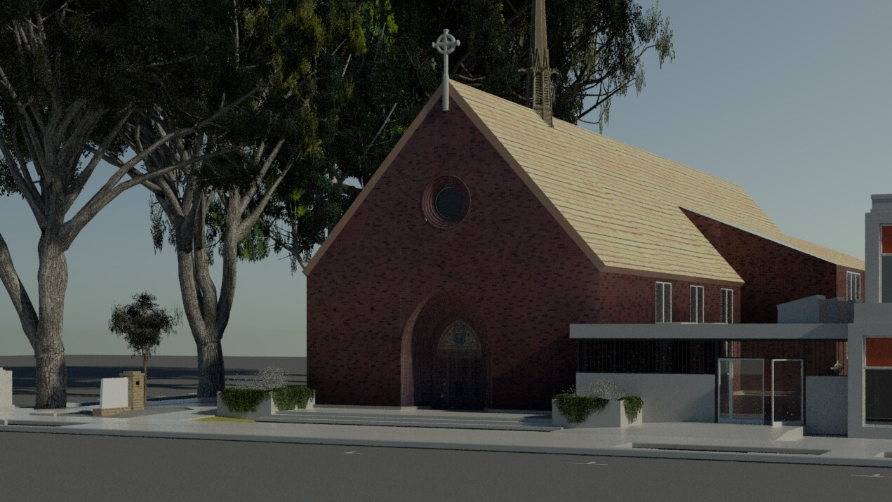 Uncompleted Projects: Calfire & Trinity Cathedral.