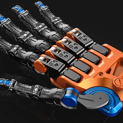 Mohammx hossein attaran mechanical hand 1