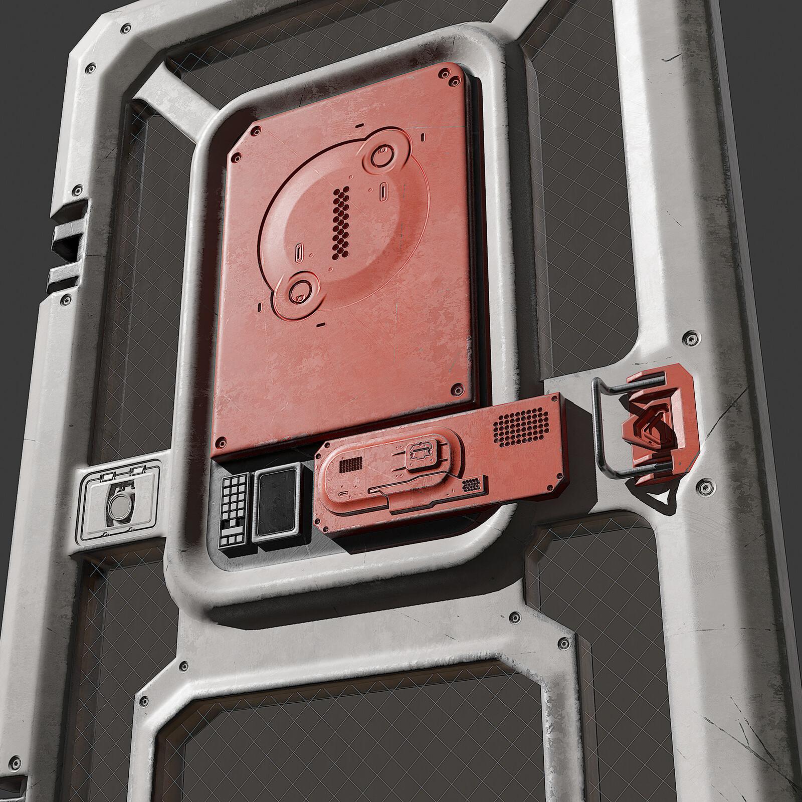 Apex Legends Inspired Sci-Fi Door