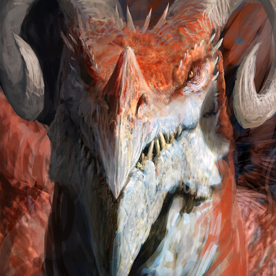 Antonio j manzanedo red dragon avatar