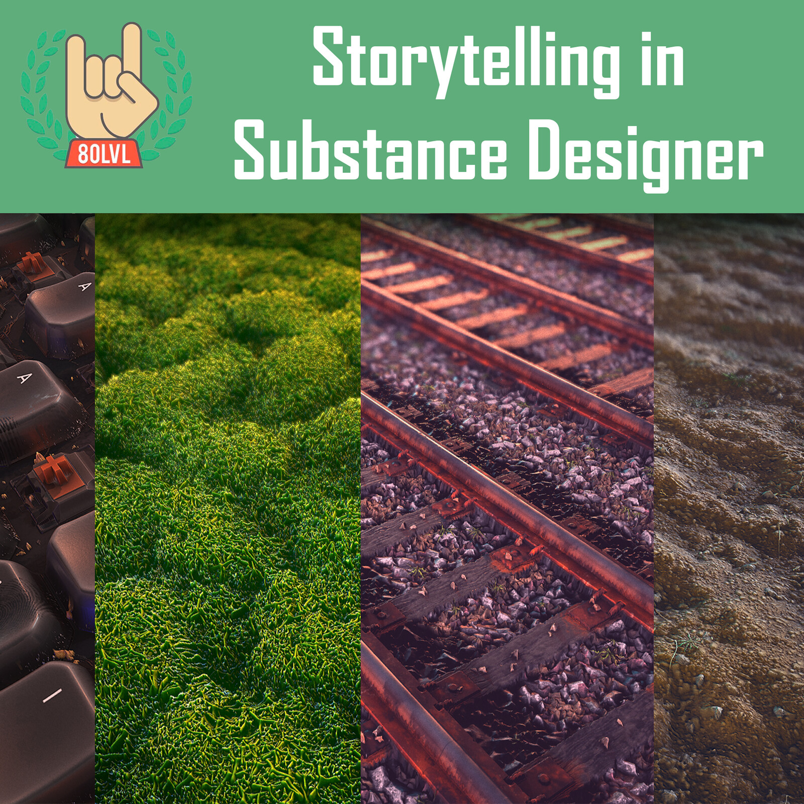 Storytelling and Tips in Substance Designer - 80 Level
